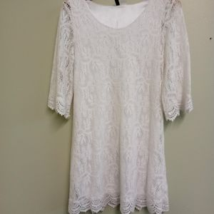  DIVIDED  by H&M Lace Dress Size 10